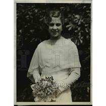 1929 Press Photo Ethel Barrymore Colt, graduation from Notre Dame Convent