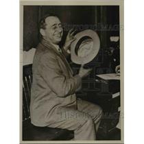 1935 Press Photo Dr. L.M. Davis, Kansas City Fraud Suspect - nee61632