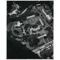 1946 Press Photo The Airview of Noble Road - cva94444