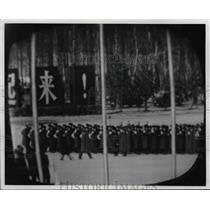 1972 Press Photo Pres. Richard M. Nixon visit China 1972 - cvb02311