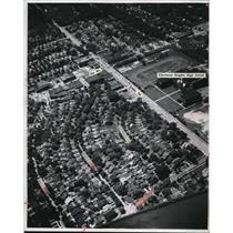 1946 Press Photo The Airviews of Lee Shopping Center at Cedor - cva94435