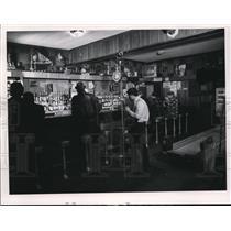 1968 Press Photo The Hells Angels at the Barto Cafe - cva82151