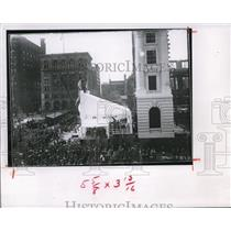 1905 Press Photo The Cornerstone Laying Ceremonies of the Federal Building