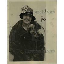 1925 Press Photo Mrs.Clara D'Arcis,Pres.of the World Union of Women Intl.Concord