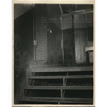 1925 Press Photo The interior of the county jail - cva85980