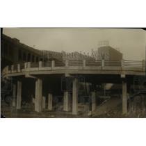 1927 Press Photo Union Station on Square, curve in the Columbus ramp - cva97320