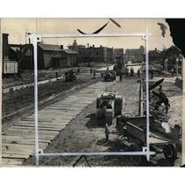 1931 Press Photo Carnegie Avenue looking East from E. 14th Street - cva99843