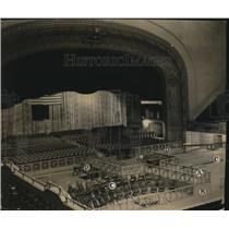 1924 Press Photo The Public Hall ready for the GOP convention - cva86360