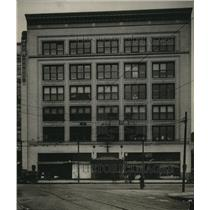 1921 Press Photo The Kinney and Leoan Building in Cleveland - cva86231
