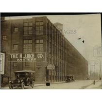 1920 Press Photo The N.J. Rich Co. building - cva90083