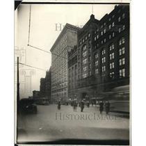 1921 Press Photo Leader News Building - cva85940