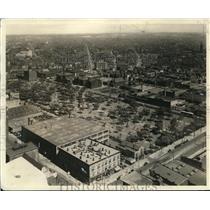 1927 Press Photo Airview of Cleveland. - cva83228
