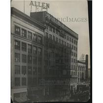 1921 Press Photo Allen Threater in Cleveland, Ohio. - cva96220