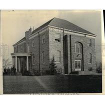 1938 Press Photo City Hall of Euclid, Ohio - cvb01220