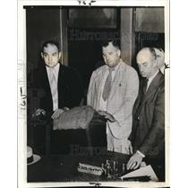 1938 Wire Photo Detectives, Alan Crone, Robert Bradley & Louis Klingenberg