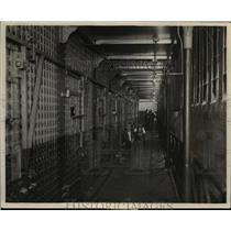 1926 Press Photo Interior appearance of the County Jail - cva96937