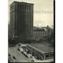 1922 Press Photo New Keith Building and Theater - cva86233