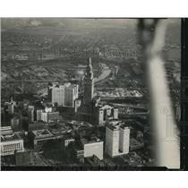 1931 Press Photo Cleveland air views - cva83584