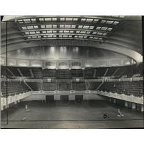 1922 Press Photo Cleveland Auditorium - cva86377