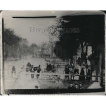 1930 Press Photo Superior St from Square looking east in 1865 - cva95294