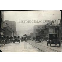 1921 Press Photo King West on Euclid at E. 46th Street during 1921 - cva87828