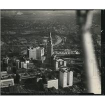 1931 Press Photo Cleveland aerial views - cva83587