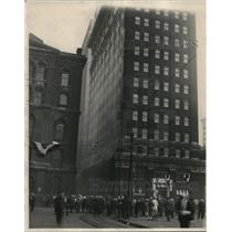 1927 Press Photo The illuminating building of the Light Plant - cva87303