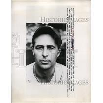 1949 Press Photo Mickey Haefner of the Washington Senators - nes38840