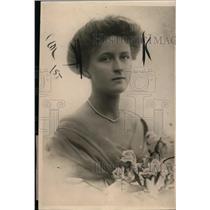1919 Press Photo Lady Macclesfield aka Lillian Boyle Daughter of Earl of Cork