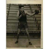 1928 Press Photo A Ekaitize middleweight & Captain of U of Maryland boxing