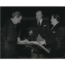 1941 Press Photo Albert Spalding, Andre Kostelanetz, John Charles Thomas