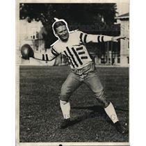 1931 Press Photo Erny Pickert, Halfback for Southern California - ors01906