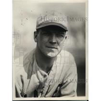 1929 Press Photo John Garver captain of Yale University baseball team