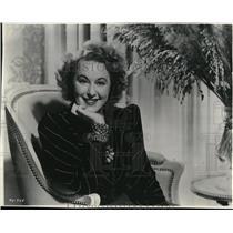 1941 Press Photo Grace Moore, Star of Opera
