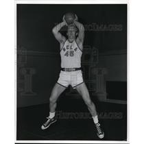 1958 Press Photo Denny Miller, UCLA Forward - ors02020