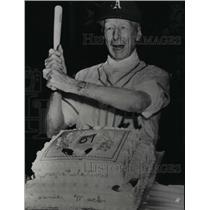 1952 Press Photo Connie Mack, veteran Philadelphia Athletics manager.