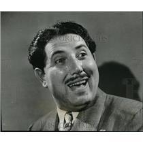 1941 Press Photo Hal Peary Gildersleeve