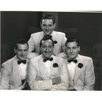 1935 Press Photo Lombardo brothersGuy, Leibert, Carmen, Victor singers