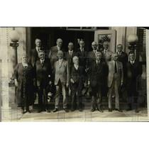 1921 Press Photo Committee of Emergency Measures Unemployment Conference in DC
