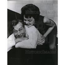 1962 Press Photo Jeffery Lynn and Jane Manning actor and actress