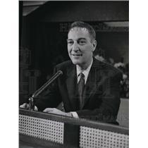 1957 Press Photo Garry Moore Show to feature Mayor Quagmire