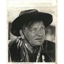 1940 Press Photo Wallace Berry in 20-Mule Team