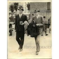 1933 Press Photo Franklin D. Roosevelt travelling companion George W. Whitney Jr