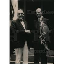 1920 Press Photo President Warren G Harding and Frank Hitchcock  - nee87546