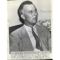 1943 Wire Photo John Samson Nebraska young Republican organization president