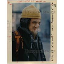 1996 Press Photo Cold weather in Portland - orb58583