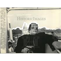 1969 Wire Photo The Frankenstein Monster to Tour the Capital City - cvw14076