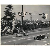 1948 Press Photo The final soap box race - cva77662