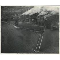 1929 Press Photo Aerial view of Illuminating Co - cva83239