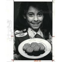 1987 Press Photo The Girl Scout Cookie Story - cva86715